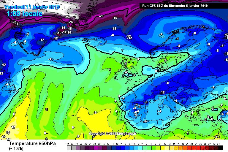 El frío ártico llega a La Rioja Alta y dejará nieve en cotas bajas 4