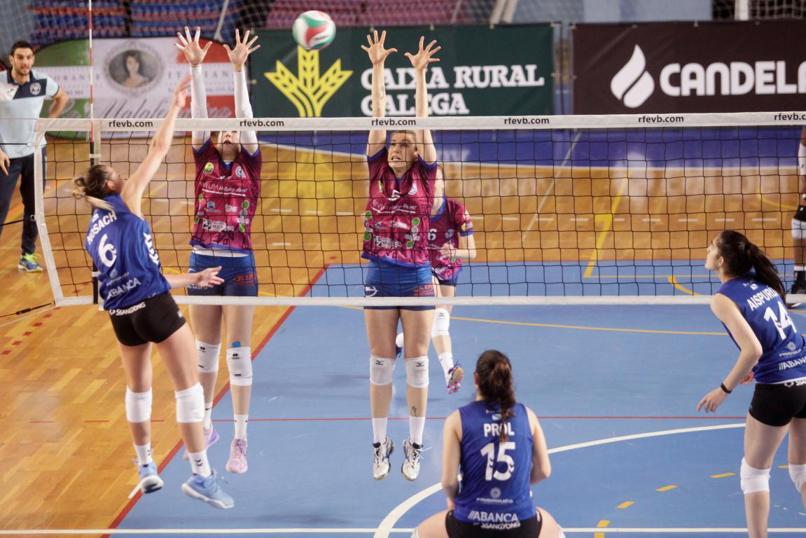 El OSACC Haro se reencuentra con la victoria en Lugo 3