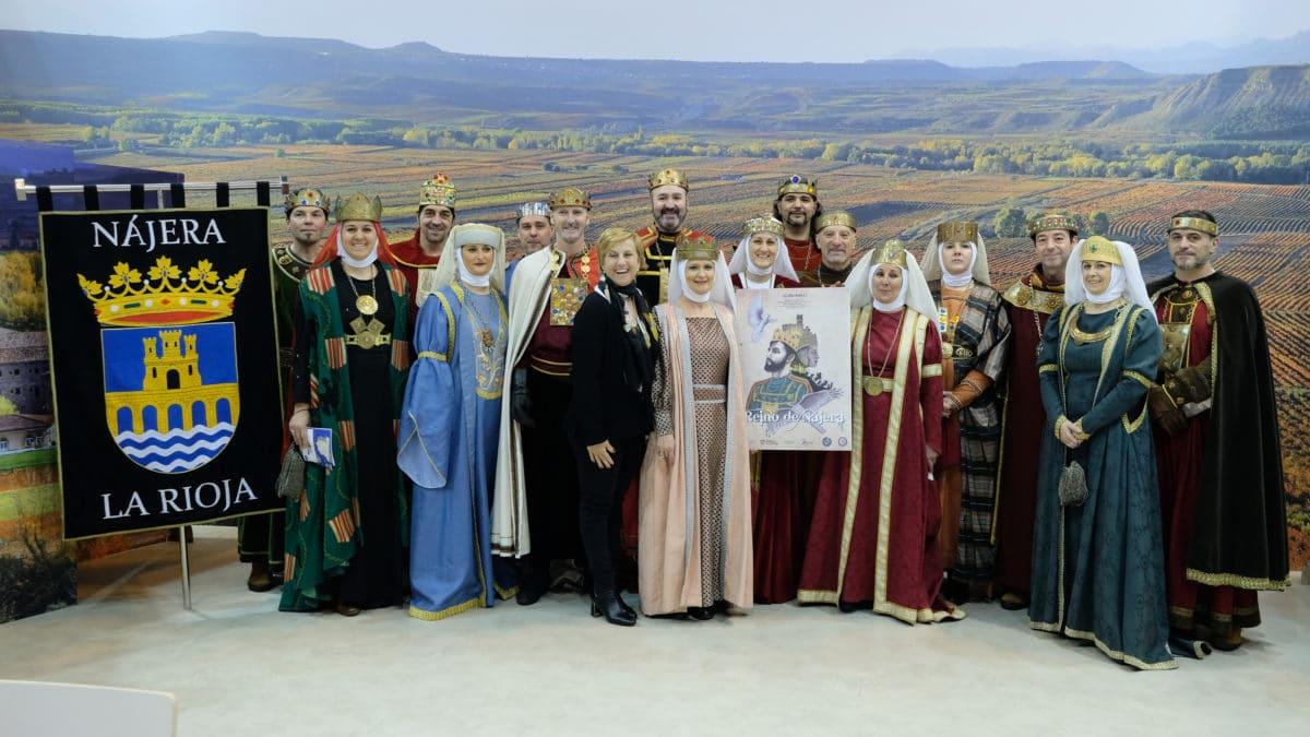 La corte del Reino de Nájera presenta en Fitur su 51 edición 1