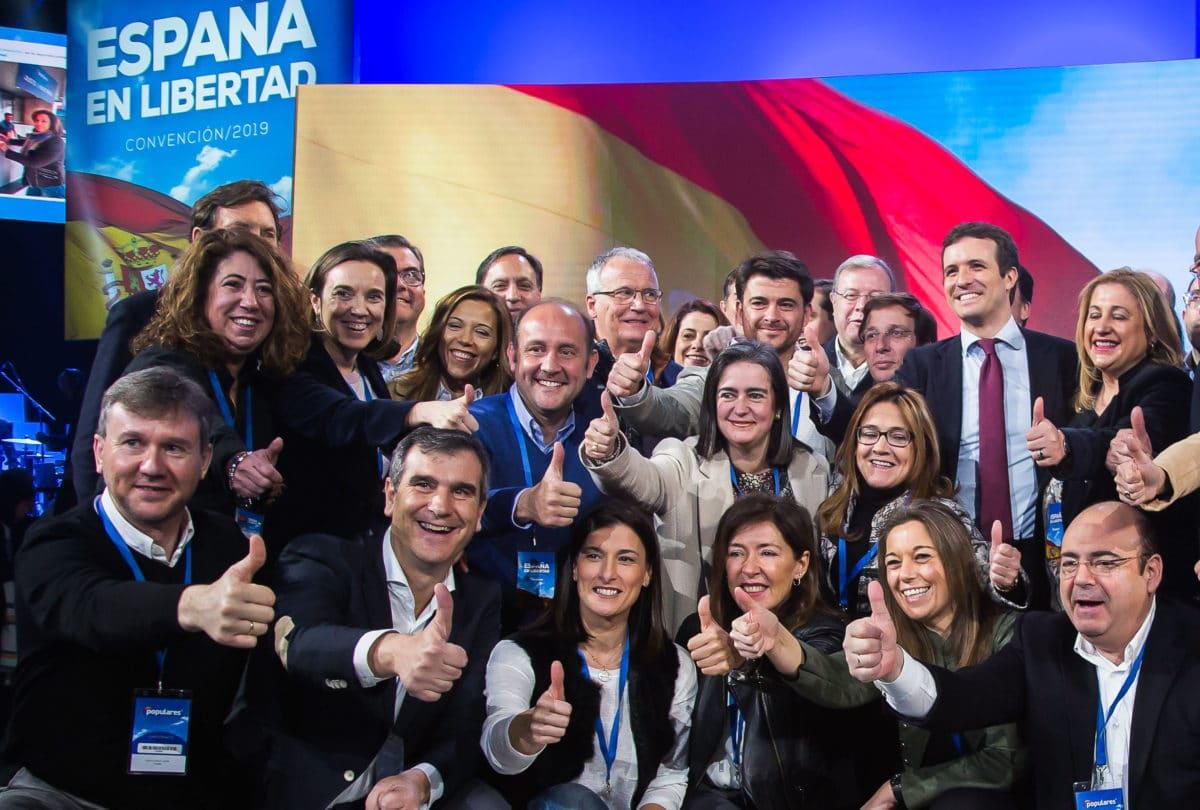 La expedición riojana en la convención nacional del PP 5