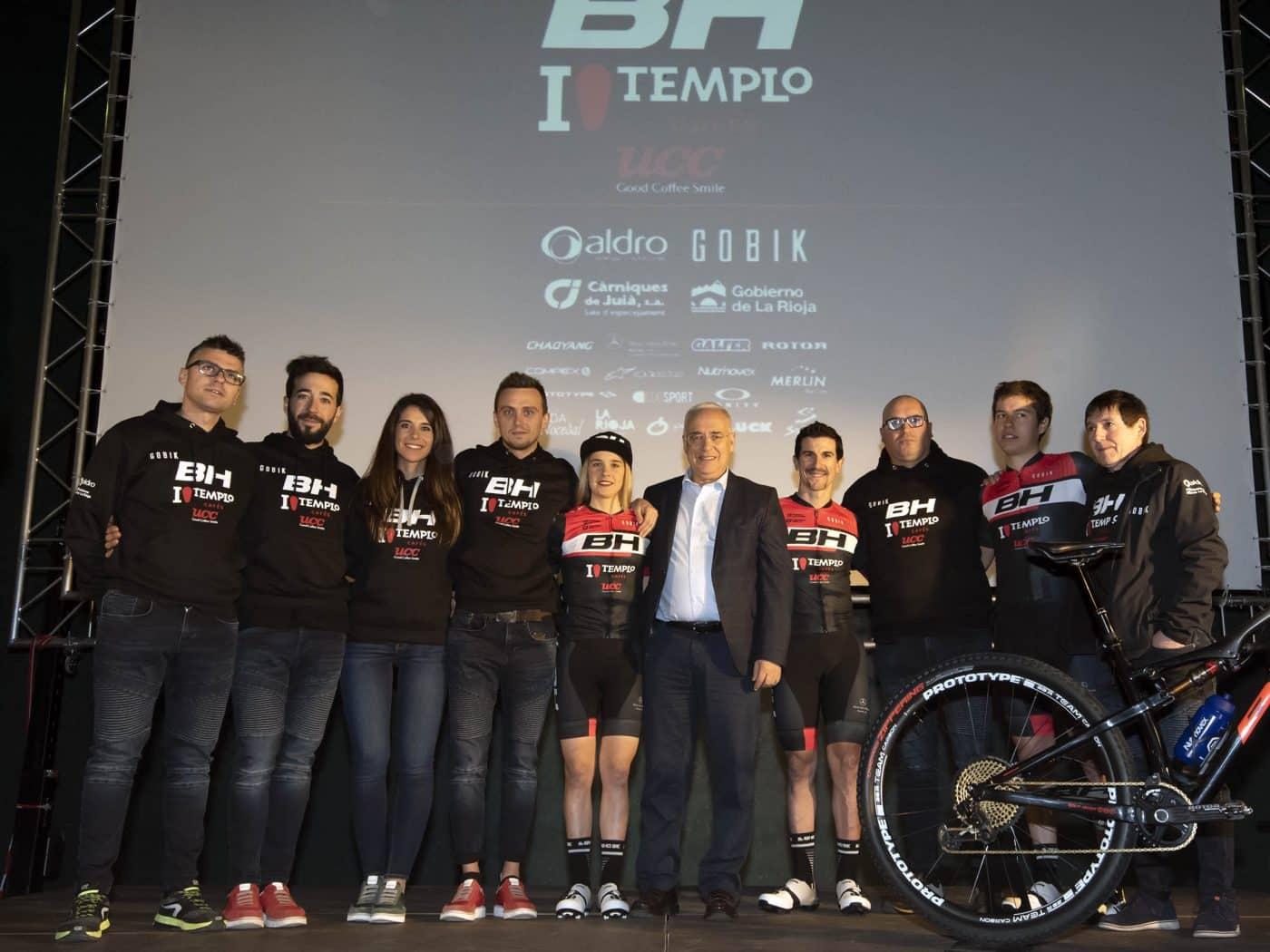 La jarrera María López se presenta con el nuevo equipo de Carlos Coloma, el BH Templo Cafés UCC 1