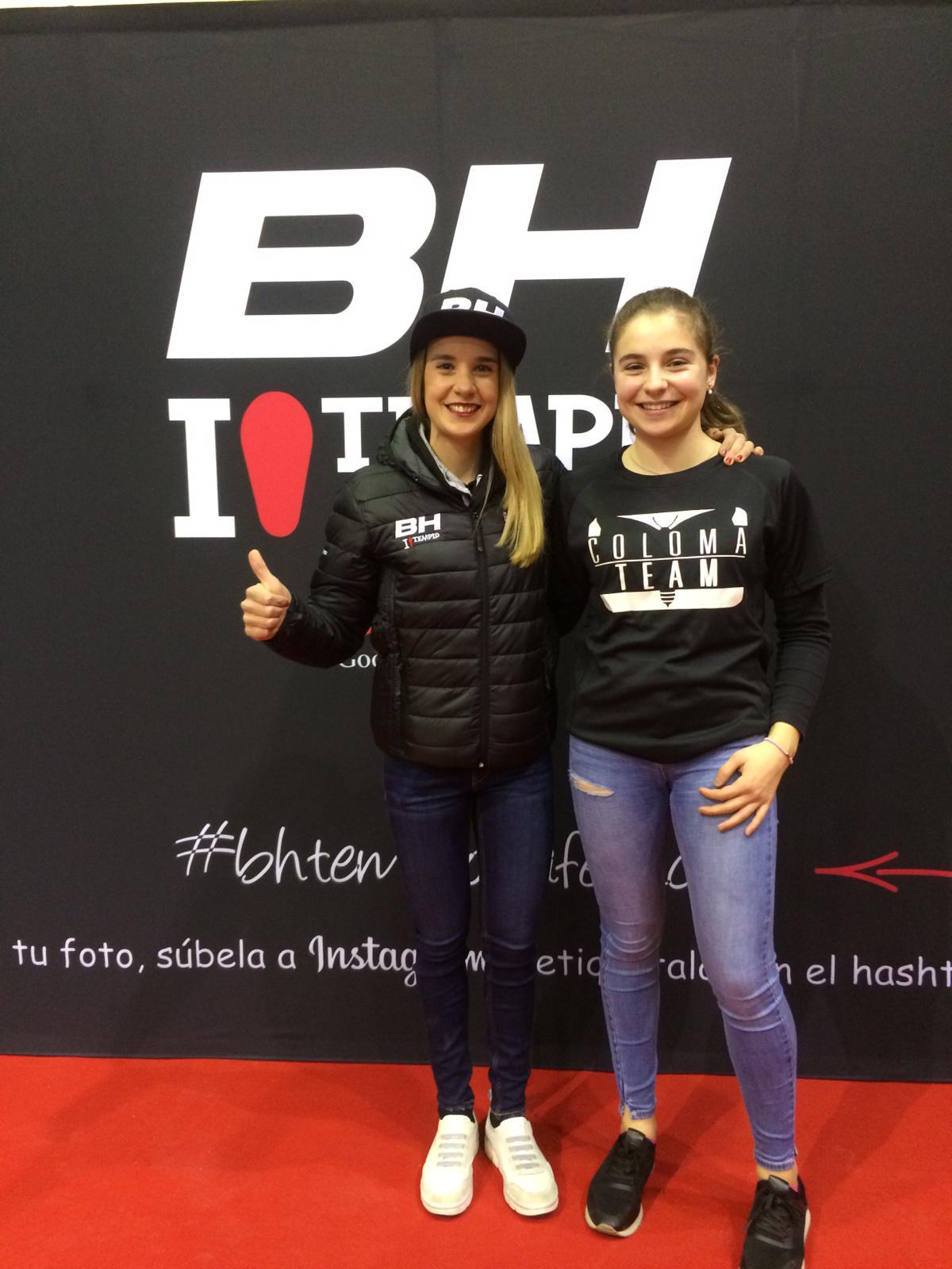 La jarrera María López se presenta con el nuevo equipo de Carlos Coloma, el BH Templo Cafés UCC 4