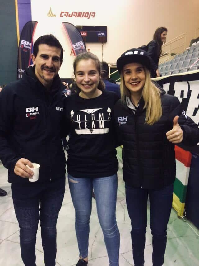 La jarrera María López se presenta con el nuevo equipo de Carlos Coloma, el BH Templo Cafés UCC 6
