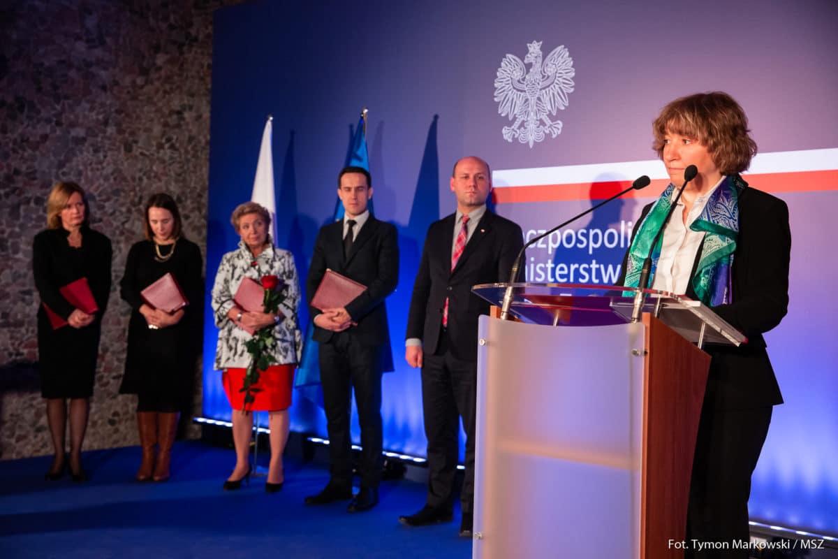 La riojana Cristina González Caizán, premiada por el Ministerio de Asuntos Exteriores de Polonia 1