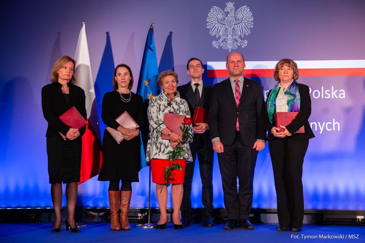 La riojana Cristina González Caizán, premiada por el Ministerio de Asuntos Exteriores de Polonia 2