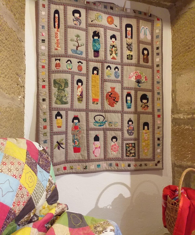 Se prolonga hasta el 12 de enero la exposición de trabajos de 'patchwork' de las Mujeres de la Vega 1