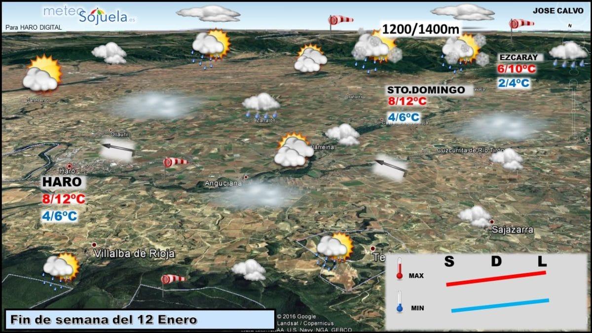 Tiempo revuelto para los próximos días en La Rioja Alta 2