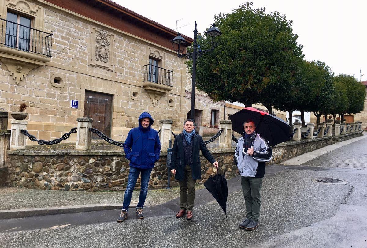 Villalobar de Rioja finaliza las obras de renovación de redes de abastecimiento de agua 1