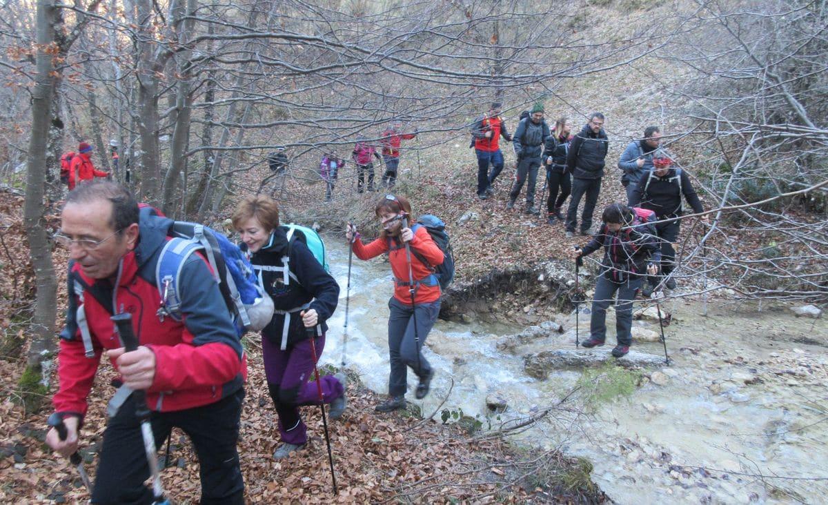 43 montañeros de la AD Toloño hacen cima en el Butxisolo y en el Kapildui 2