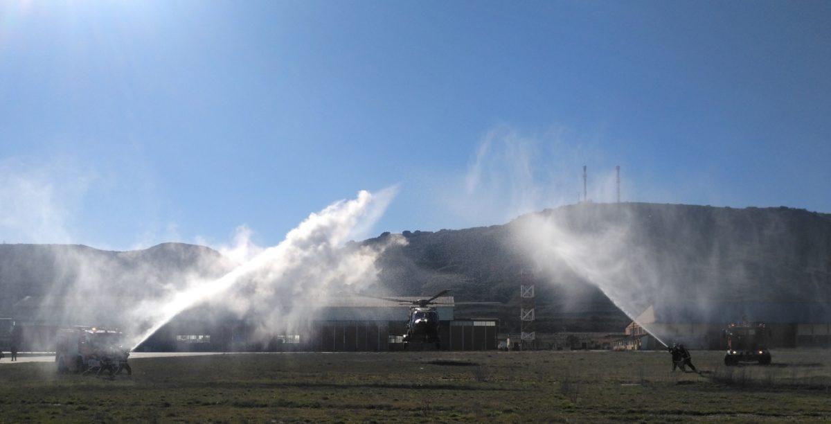 El batallón riojano Bhelma III completa las primeras 3.000 horas de vuelo con el NH-90 1