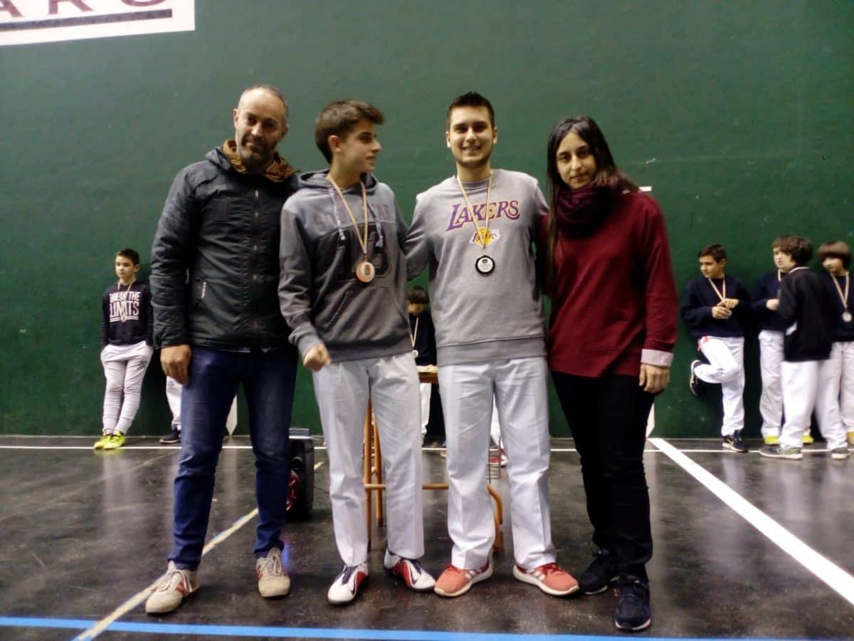 El Club Pelota Haro-Briones se corona como gran campeón autonómico de frontenis 7