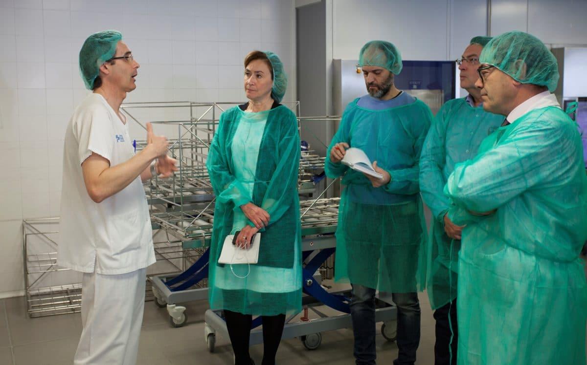 El Hospital San Pedro incorpora nueva tecnología para para comprobar en menos de 30 minutos si todo el material está esterilizado 1