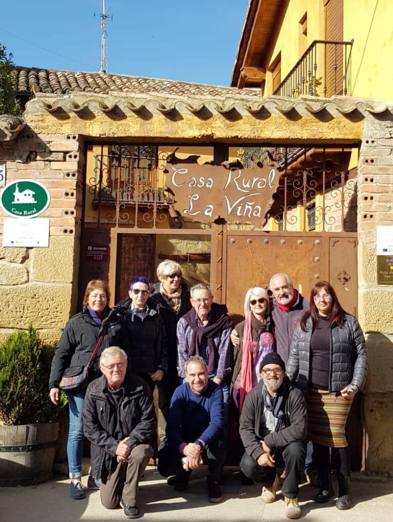 Encuentro internacional de acuarelistas en Cuzcurrita y Briones 2