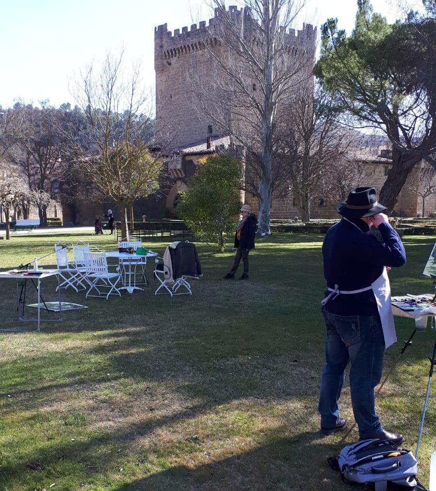 Encuentro internacional de acuarelistas en Cuzcurrita y Briones 3