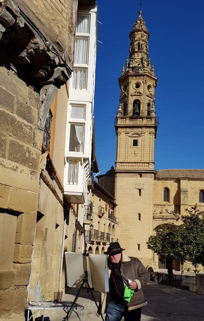 Encuentro internacional de acuarelistas en Cuzcurrita y Briones 1