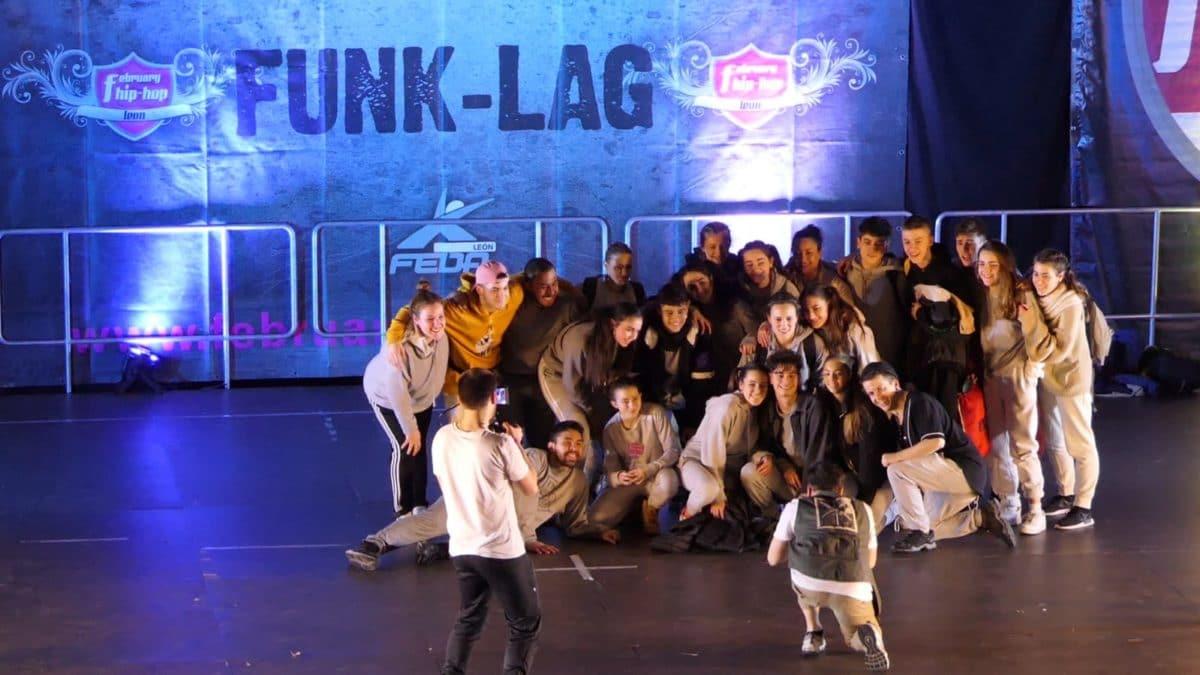 Harteraphia firma un meritorio tercer puesto en el February Hip Hop de León 1