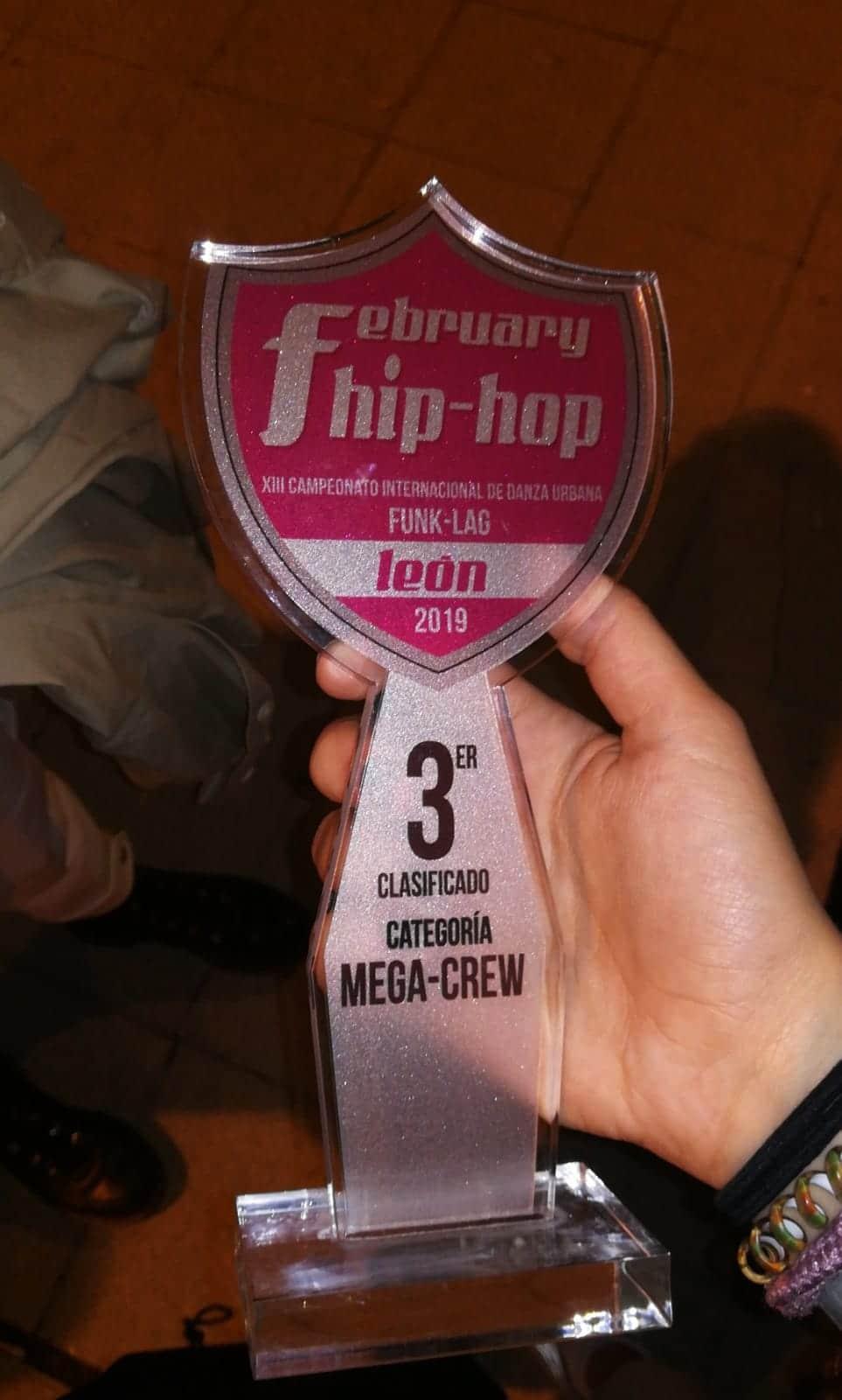 Harteraphia firma un meritorio tercer puesto en el February Hip Hop de León 2