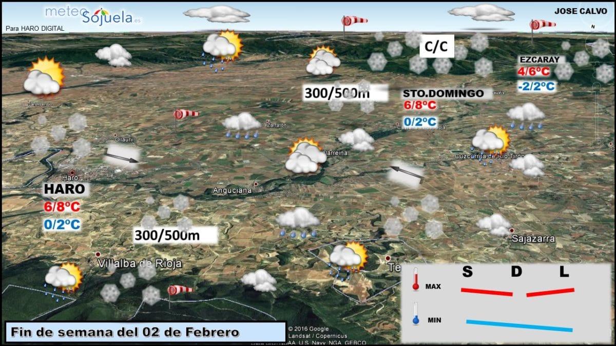 'Helena' deja un temporal de invierno en toda regla en La Rioja 2
