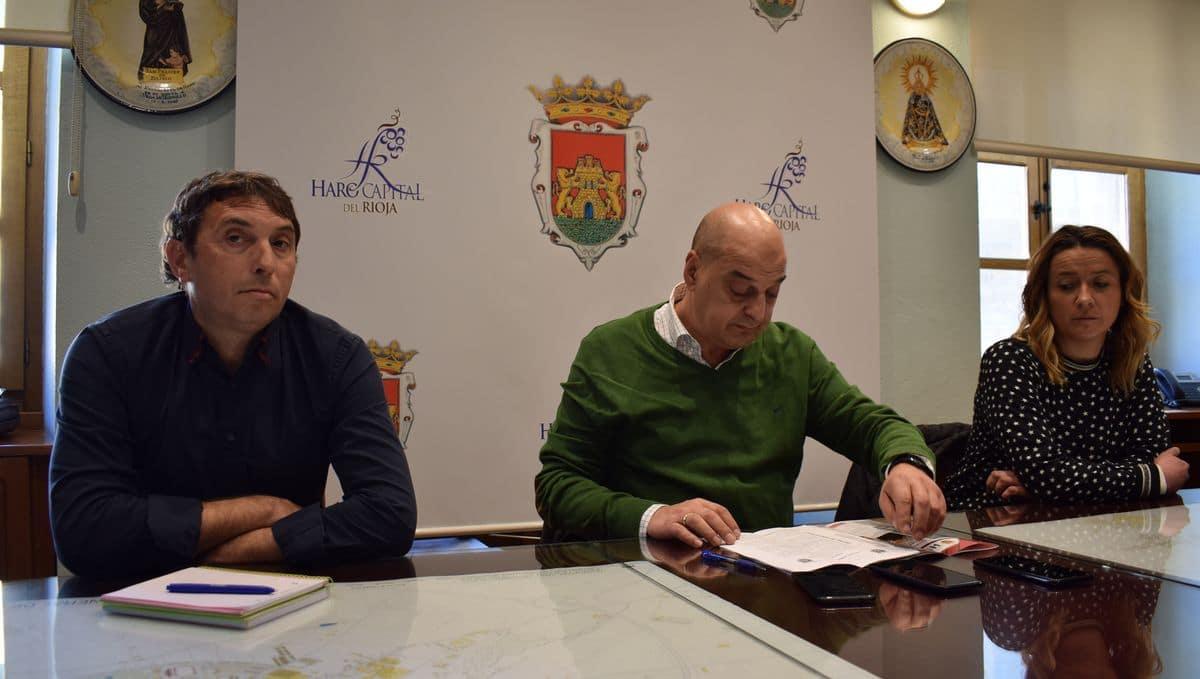 Itziar Solabarrieta sustituye a Alberto González como coordinadora del Plan Turístico de Haro 1