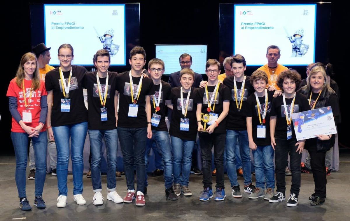 Menesianos de Santo Domingo y San Prudencio, ganadores de la First Lego League 29