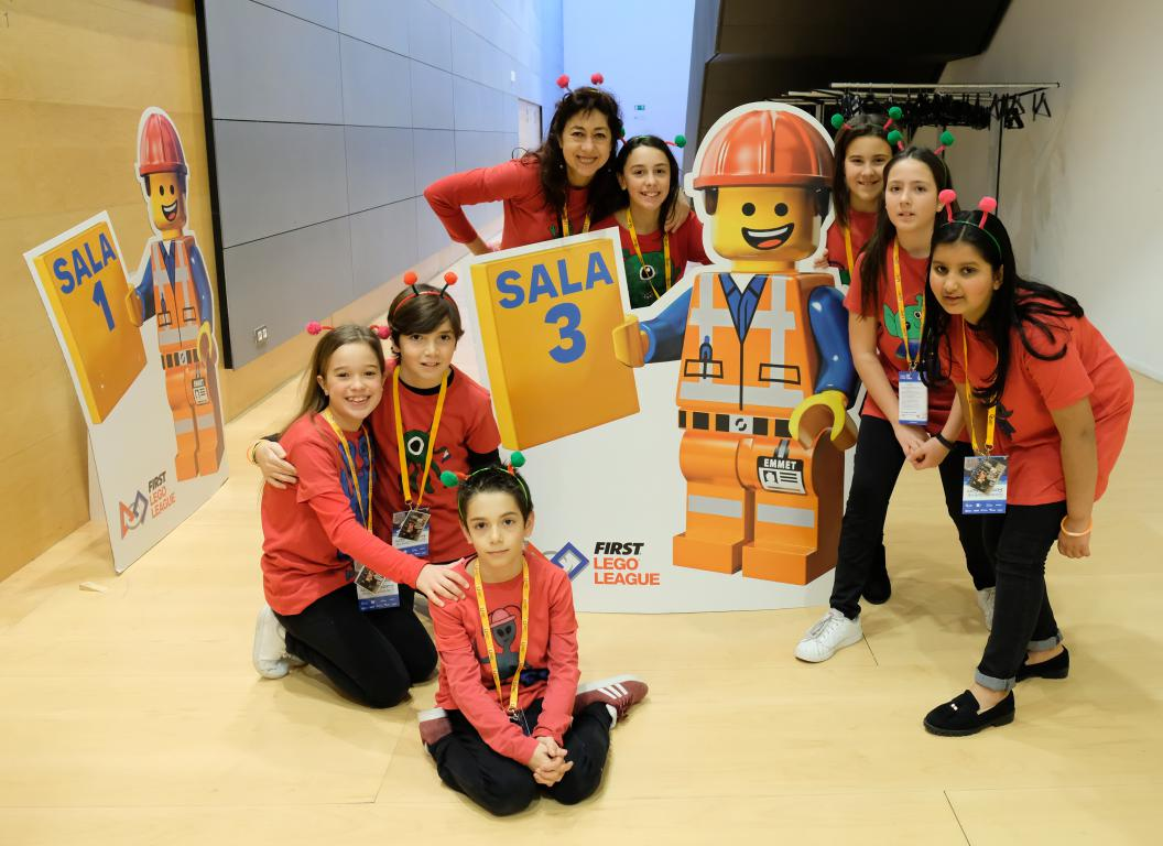 Menesianos de Santo Domingo y San Prudencio, ganadores de la First Lego League 3