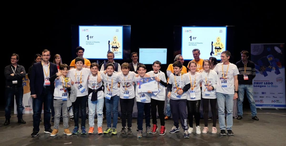 Menesianos de Santo Domingo y San Prudencio, ganadores de la First Lego League 32