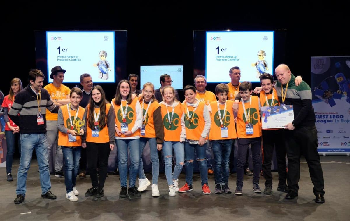 Menesianos de Santo Domingo y San Prudencio, ganadores de la First Lego League 34