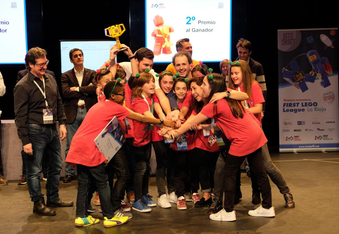 Menesianos de Santo Domingo y San Prudencio, ganadores de la First Lego League 40