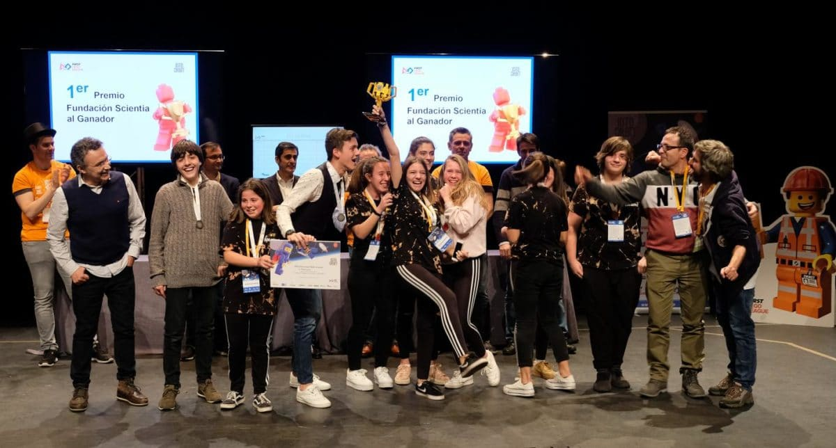 Menesianos de Santo Domingo y San Prudencio, ganadores de la First Lego League 41