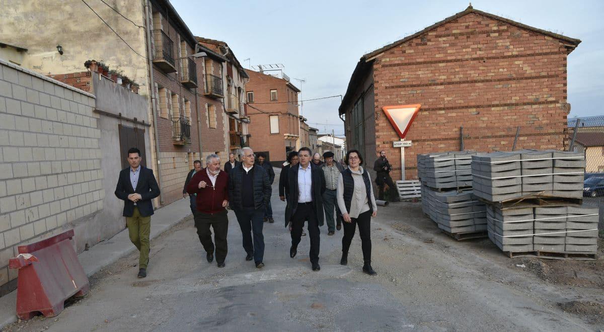Nuevo depósito de agua y mejora de la carretera de acceso a Hormilla 1
