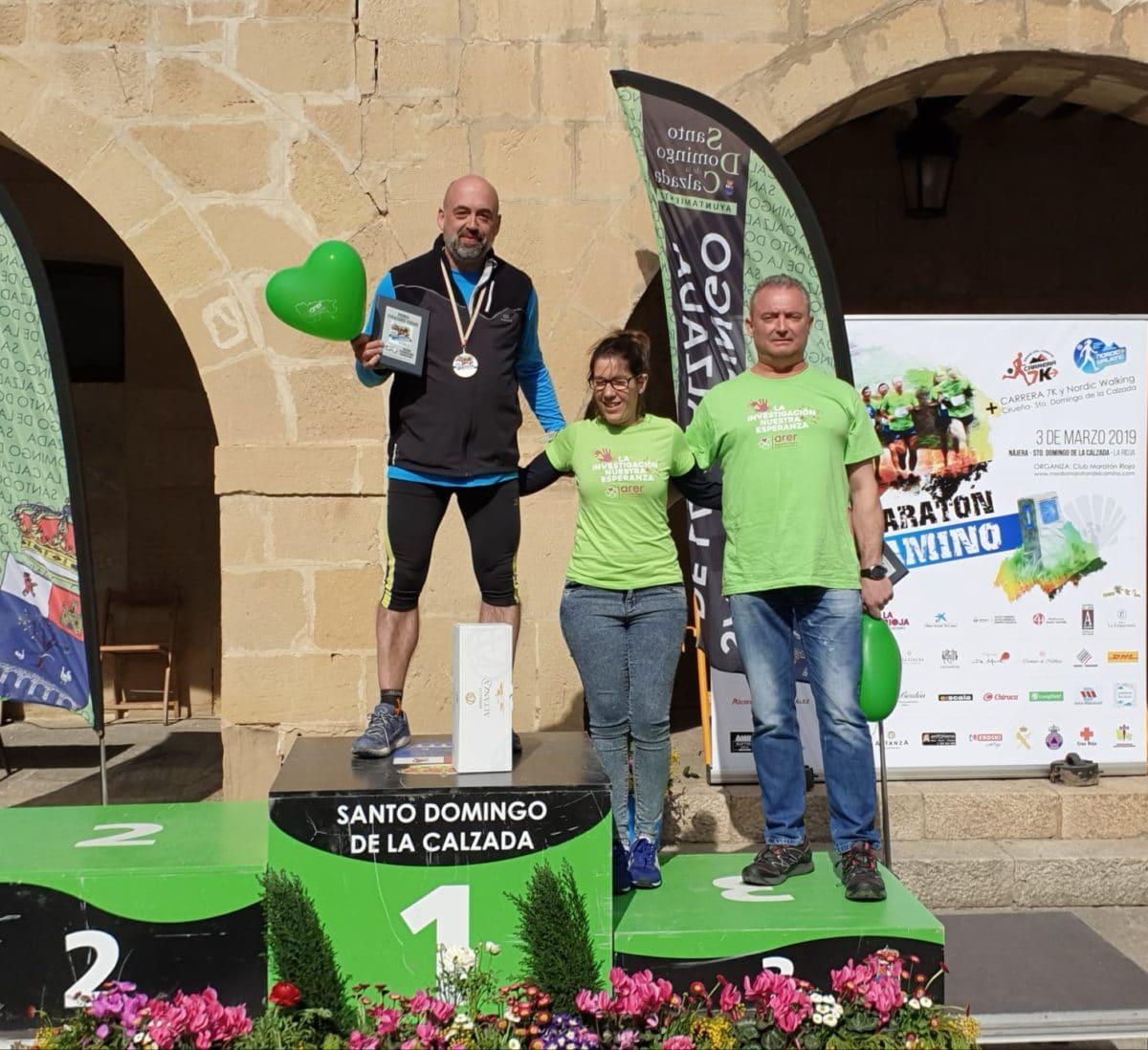 Ángel Martínez y Ane Zabala, vencedores de la XIII Media Maratón del Camino 3