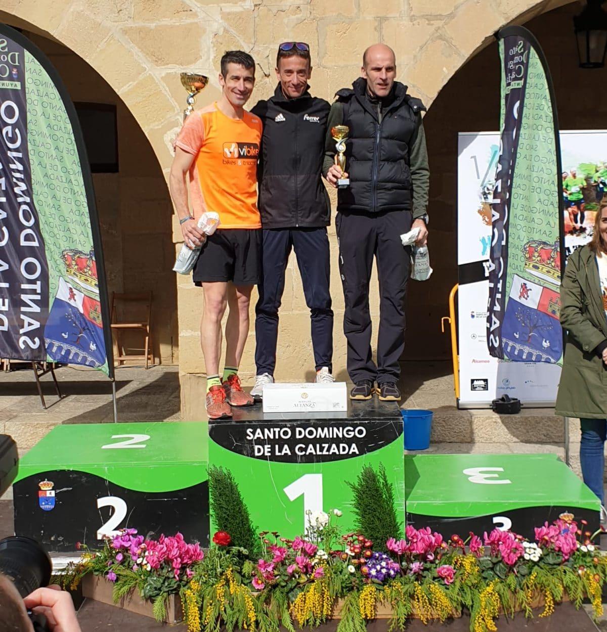 Ángel Martínez y Ane Zabala, vencedores de la XIII Media Maratón del Camino 2