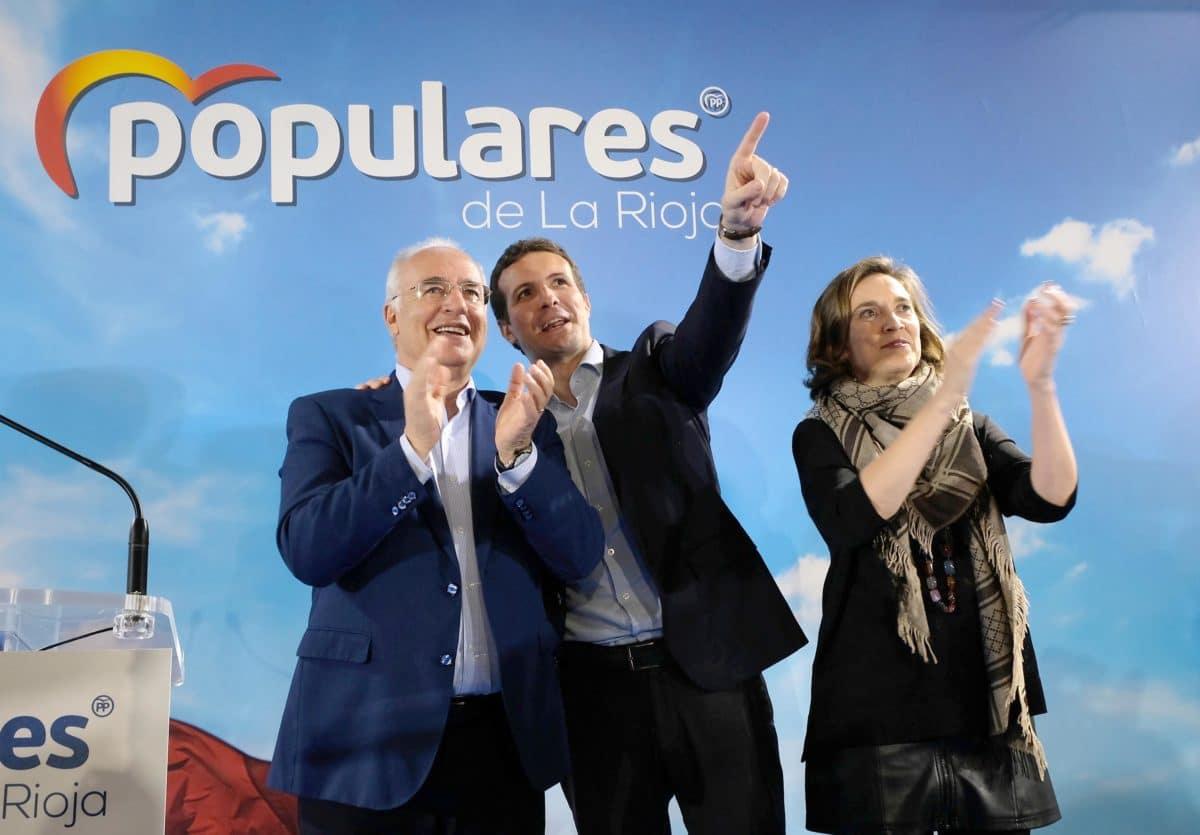 Casado en la puesta de largo de los candidatos populares a las cabeceras de comarca 1