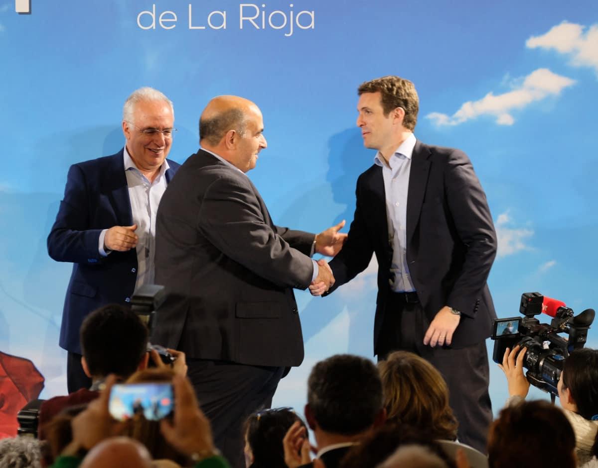 Casado en la puesta de largo de los candidatos populares a las cabeceras de comarca 12