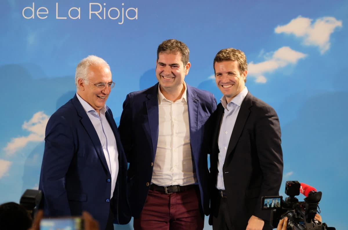 Casado en la puesta de largo de los candidatos populares a las cabeceras de comarca 4