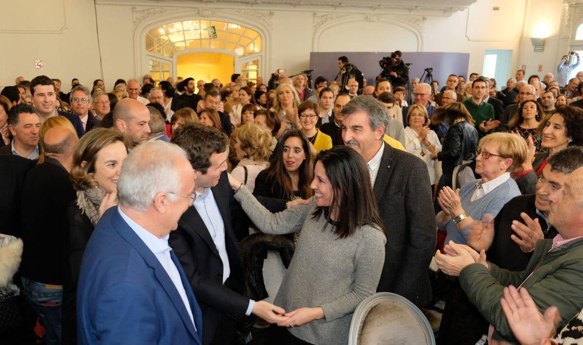 Casado en la puesta de largo de los candidatos populares a las cabeceras de comarca 7