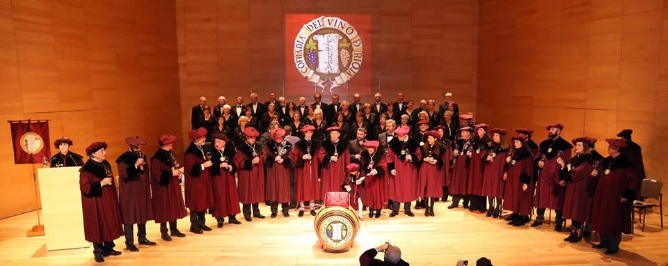 El Centro Riojano de Madrid, cofrade de honor de la Cofradía del Vino de Rioja 1