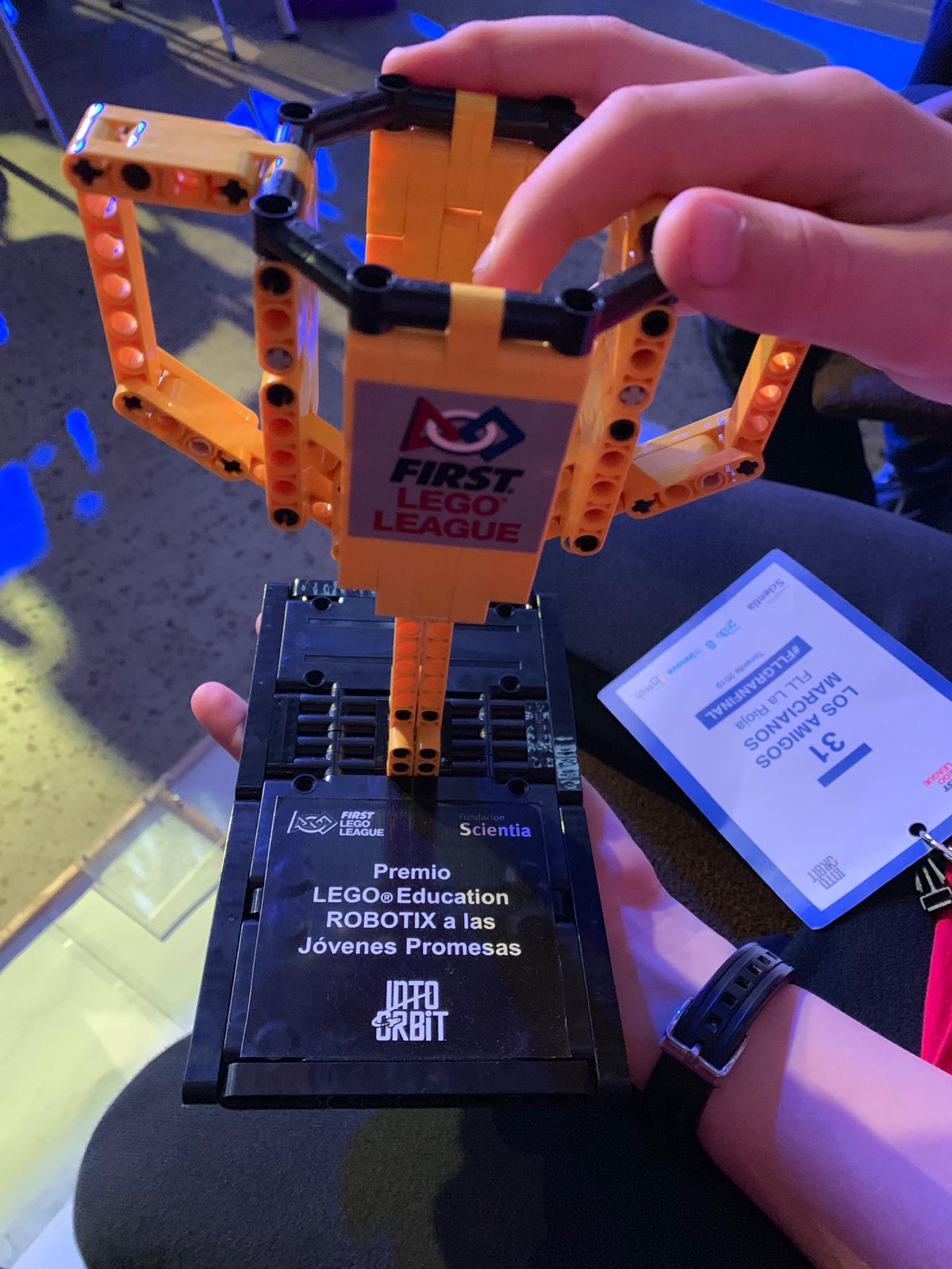 El Colegio Menesianos y el CRA Cuenca del Najerilla, en la Gran Final First Lego League España 3
