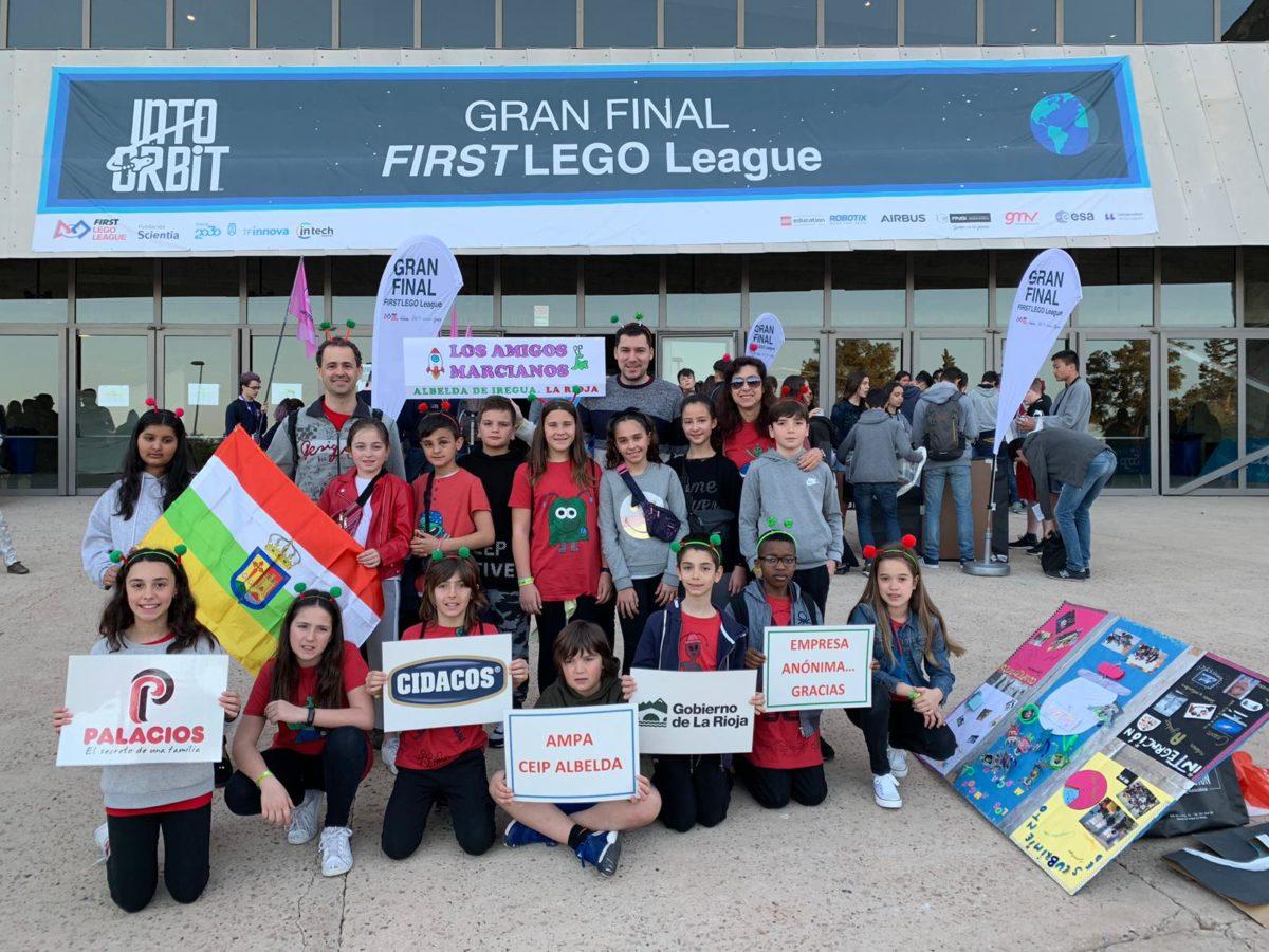 El Colegio Menesianos y el CRA Cuenca del Najerilla, en la Gran Final First Lego League España 5