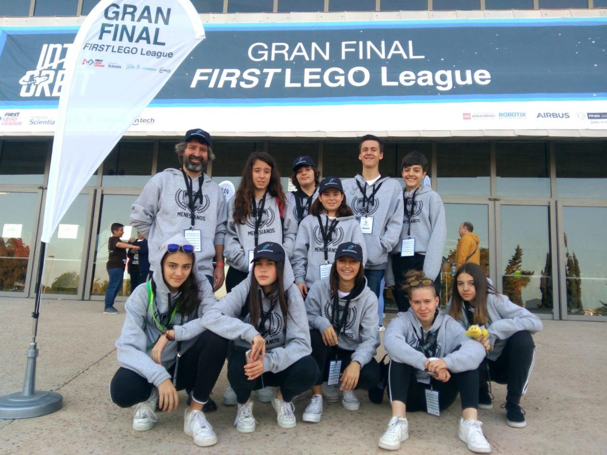 El Colegio Menesianos y el CRA Cuenca del Najerilla, en la Gran Final First Lego League España 2