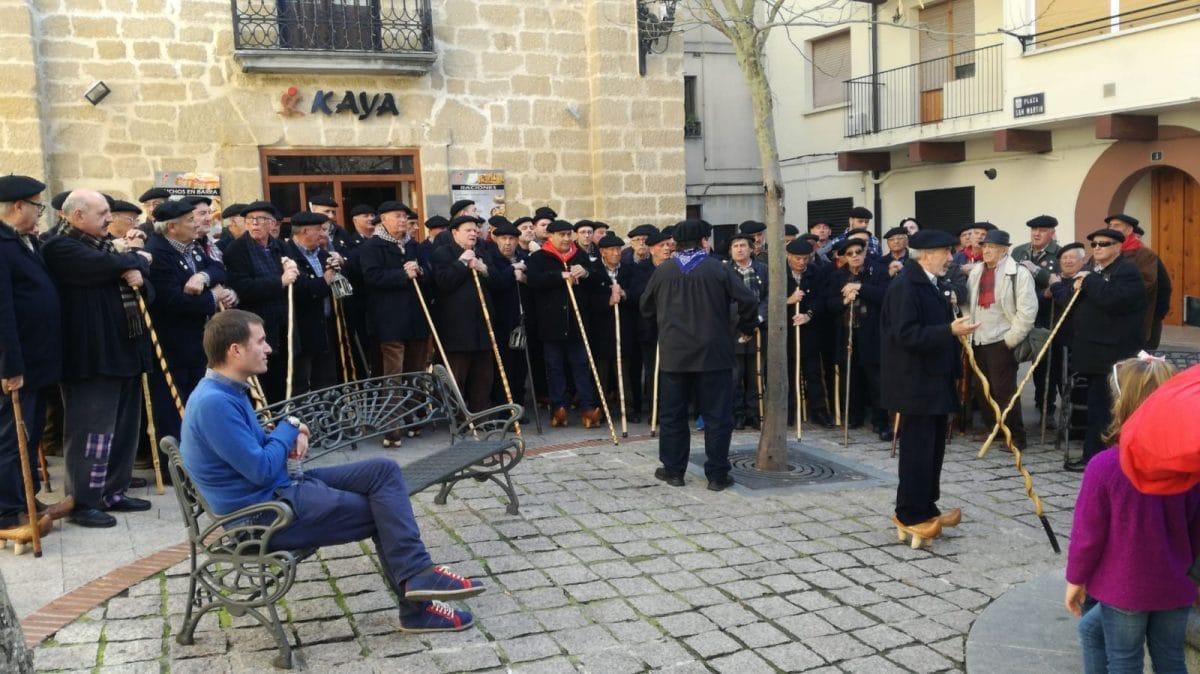 El Coro Ronda Besaya de Torrelavega visitó Haro este sábado 1