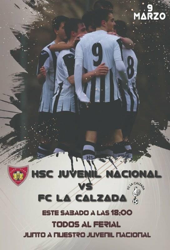 El derbi Haro Sport Club-La Calzada de la liga juvenil, este sábado en El Ferial 1