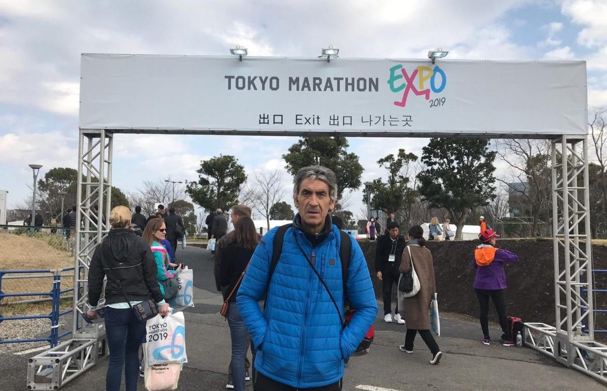 Jesús Sáez cumple en Tokio el reto de los seis grandes maratones del mundo 1