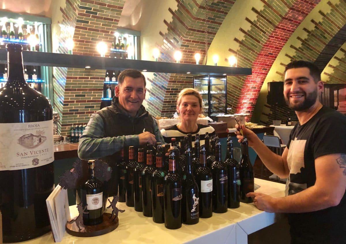 La cocina de La Vieja Bodega y los vinos de Sierra Cantabria vuelven a fundirse en ProWein 11