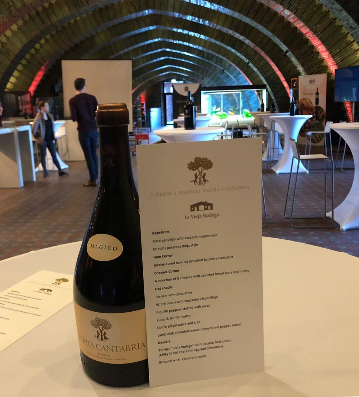 La cocina de La Vieja Bodega y los vinos de Sierra Cantabria vuelven a fundirse en ProWein 6