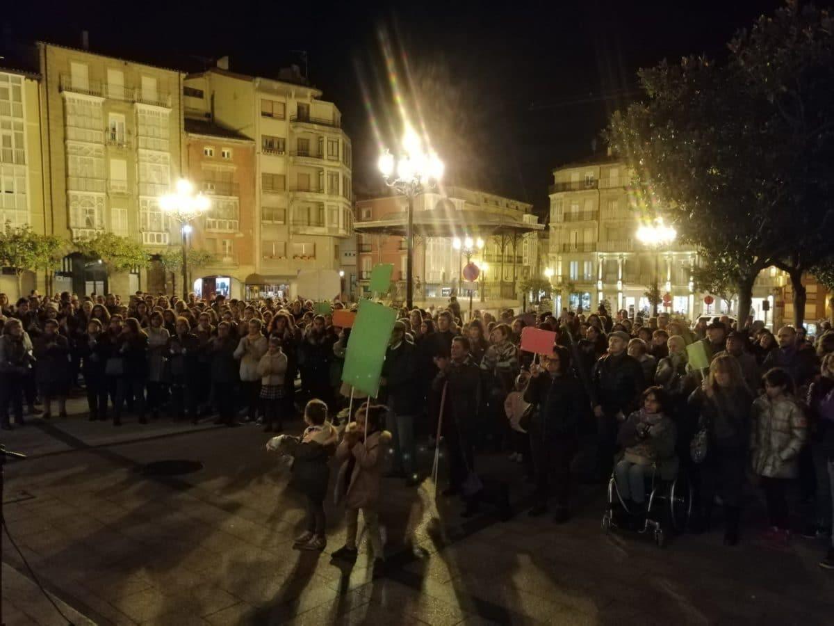 La Plataforma 8M Rioja Alta exige que el Pacto de Estado contra la Violencia se dote con recursos y medios 1