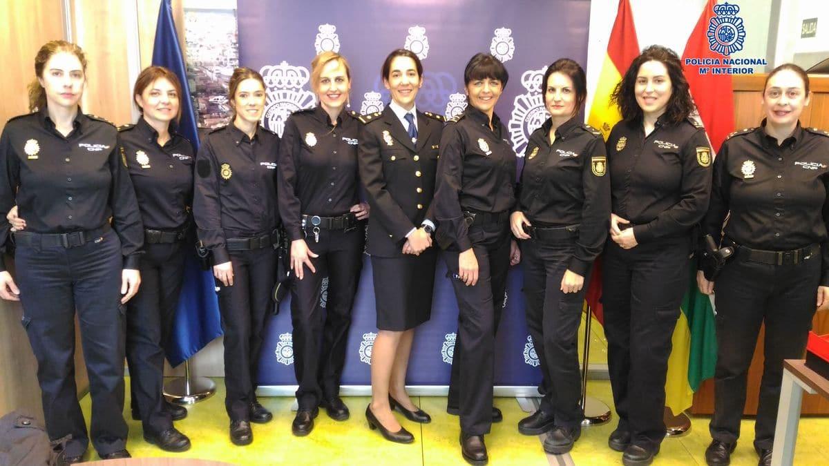 La Policía Nacional celebra el 40 aniversario de la incorporación de la mujer 1