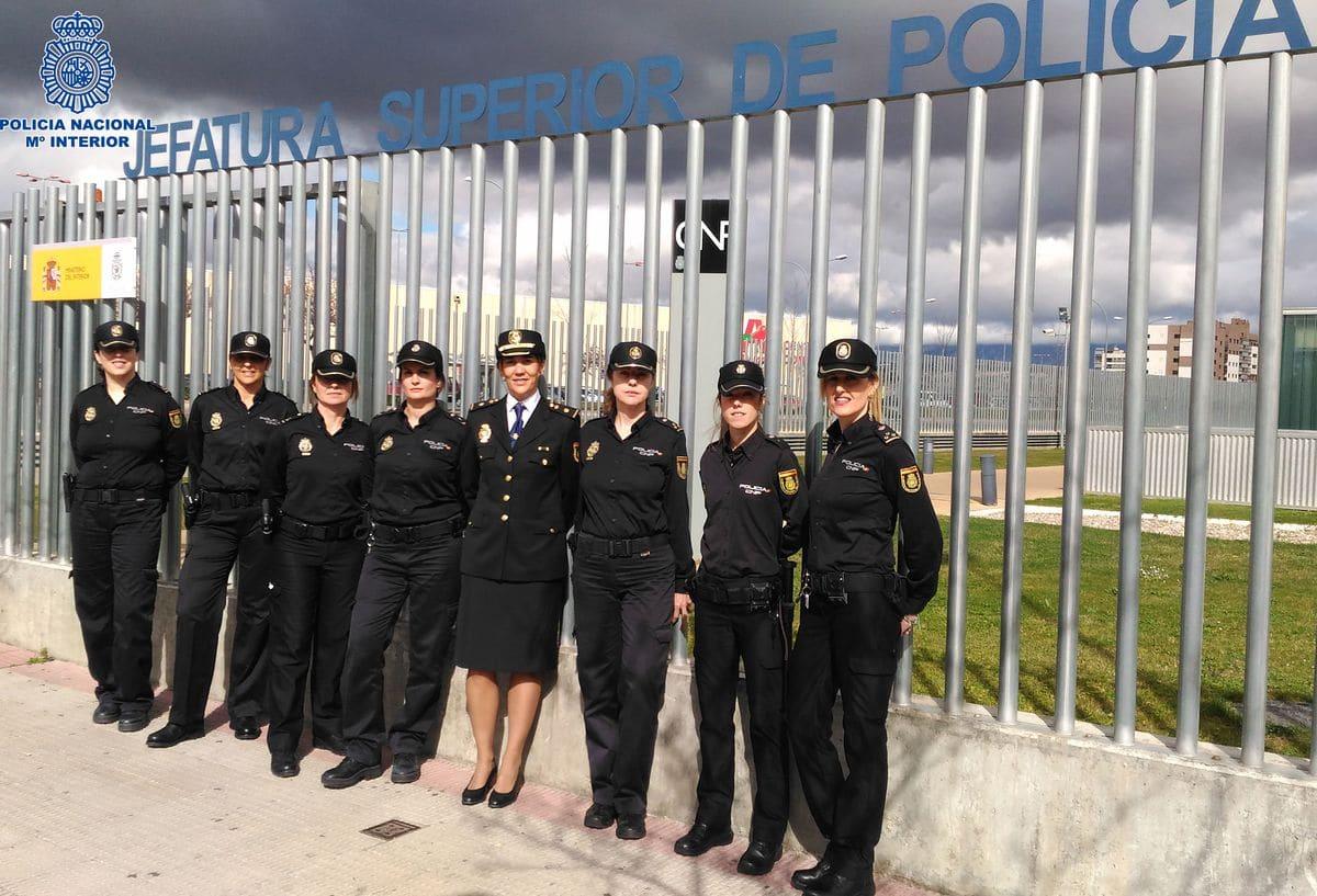 La Policía Nacional celebra el 40 aniversario de la incorporación de la mujer 2