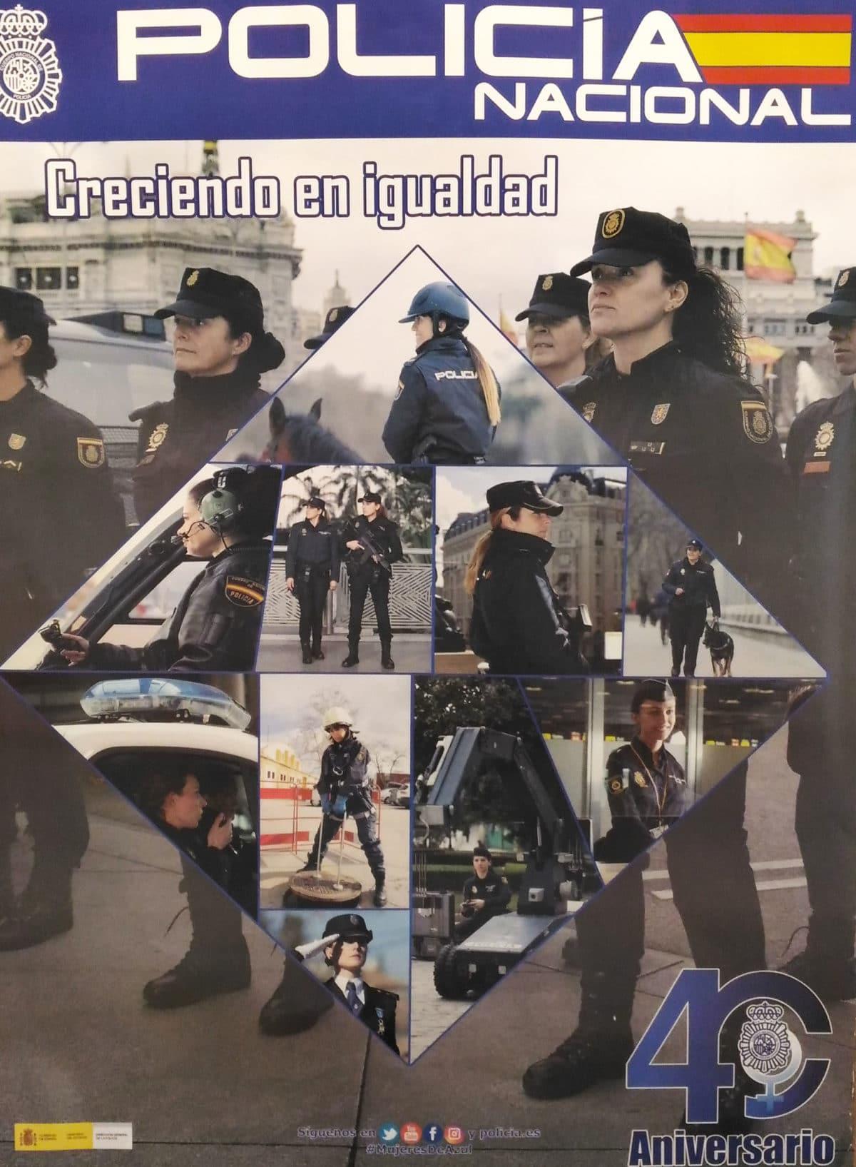 La Policía Nacional celebra el 40 aniversario de la incorporación de la mujer 3