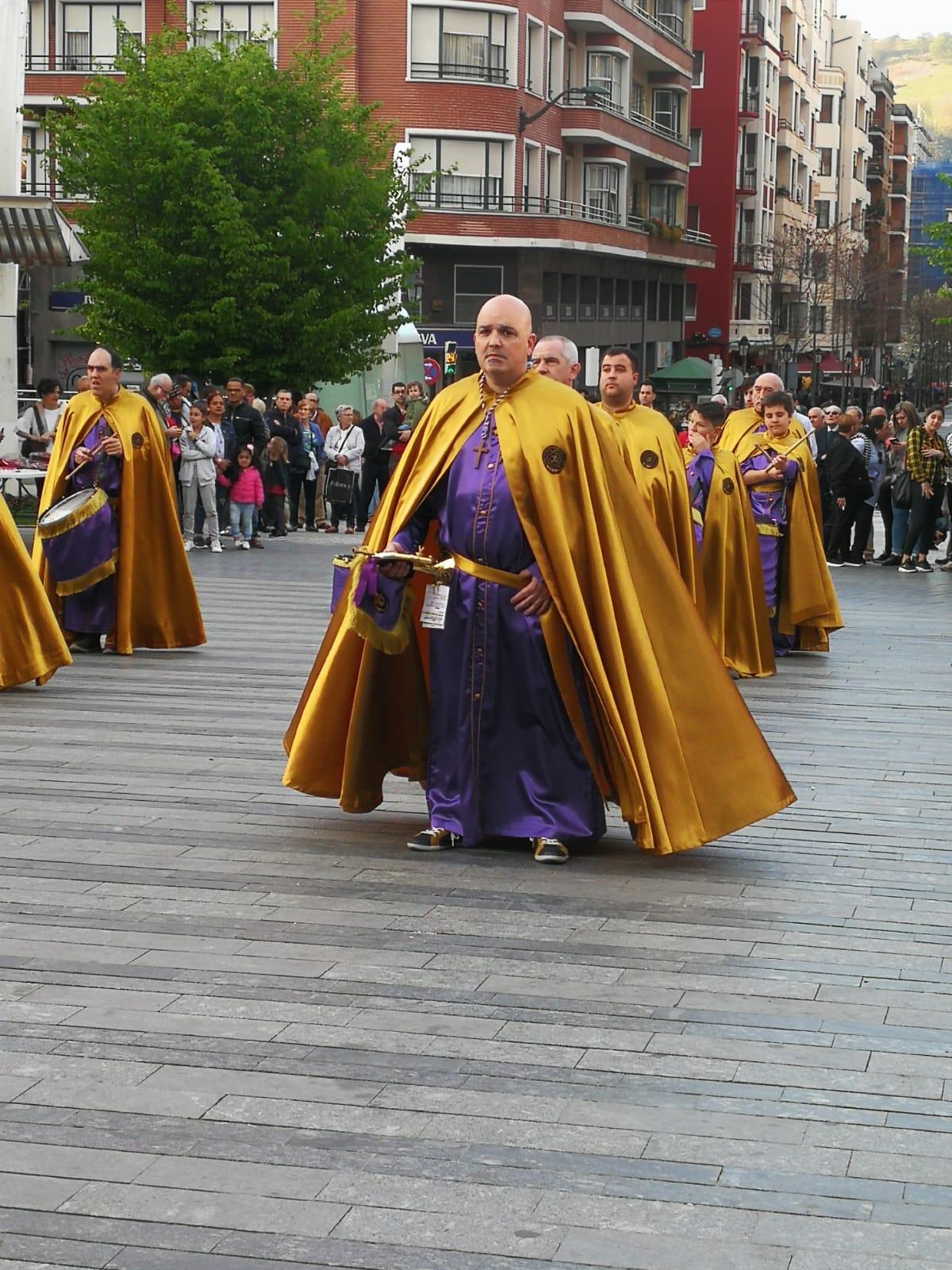 Las imágenes de la participación de la Agrupación de Cornetas y Tambores de Haro en la Exaltación de Clarines y Tambores de Bilbao 1